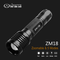 Zoomable Flashlight ZM-18